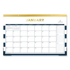 BLS103628 - Day Designer Desk Pad Calendar, 17 x 11, 2019