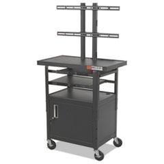 BLT27530 - BALT® Two-Shelf Height Adjustable Flat Panel TV Cart