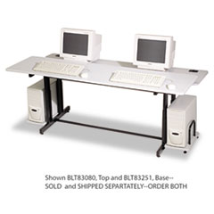 BLT83251 - BALT® Split-Level Computer Training Table, 72 x 36