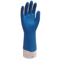 SFZGRCL-MD-1SF - Safety ZoneUnlined Latex Gloves - Medium