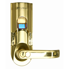 ITOBM001REA - iTouchlessBio-Matic™ Fingerprint Door Lock Gold - Right Handle