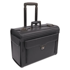 BND456110BLK - Bond Street, Ltd. Computer/Catalog Case on Wheels
