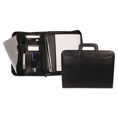 BNDRGB1101 - Bond Street, Ltd. Tablet-iPad® Organizer with Removable Ring Binder