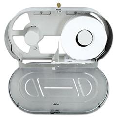 BOB2892 - Stainless Steel Two-Roll Jumbo Toilet Tissue Dispenser