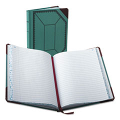 BOR3738150R - Boorum  Pease® Record Book with Blue and Red Cover