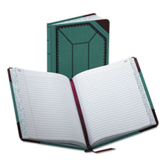 BOR3738300R - Boorum  Pease® Record Book with Blue and Red Cover