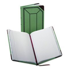 BOR6718150R - Boorum  Pease® Record and Account Book with Green and Red Cover