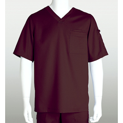 BRC0103-222-L - Grey's AnatomyMens 3-Pocket Scrub Top