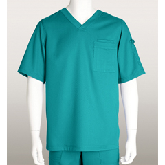 BRC0103X-39-3XL - Grey's AnatomyMens 3-Pocket Scrub Top