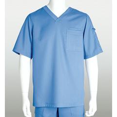 BRC0103X-40-3XL - Grey's AnatomyMens 3-Pocket Scrub Top
