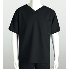 BRC0107-01-M - Grey's AnatomyMens 3-Pocket High Open V-Neck Scrub Top