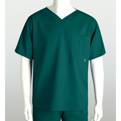 BRC0107-37-M - Grey's AnatomyMens 3-Pocket High Open V-Neck Scrub Top