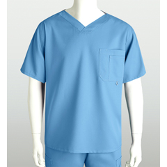 BRC0107-40-L - Grey's AnatomyMens 3-Pocket High Open V-Neck Scrub Top