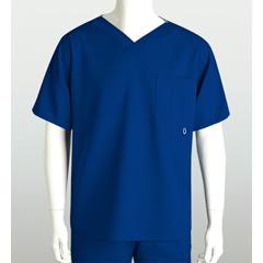 BRC0107-474-L - Grey's AnatomyMens 3-Pocket High Open V-Neck Scrub Top