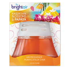 BRI900021 - Bright Air Scented Oil Air Freshener - Hawaiian Blossoms & Papaya