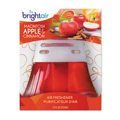 BRI900022CS - Scented Oil Air Freshener - Macintosh Apple & Cinnamon