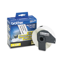 BRTDK1201 - Brother® Pre-Sized Die-Cut Label Roll for QL Label Printers