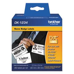 BRTDK1234 - Brother Pre-Sized Die-Cut Label Rolls