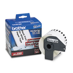BRTDK2205 - Brother® Continuous Length Label Tape for QL Label Printers