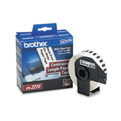 BRTDK2210 - Brother® Continuous Length Label Tape for QL Label Printers