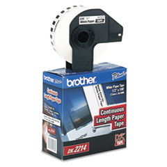 BRTDK2214 - Brother® Continuous Length Label Tape for QL Label Printers