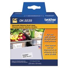 BRTDK3235 - Brother Pre-Sized Die-Cut Label Rolls