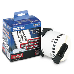 BRTDK4205 - Brother® Continuous Length Label Tape for QL Label Printers