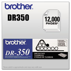 BRTDR350 - Brother DR350 Drum Unit, Black