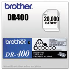 BRTDR400 - Brother DR400 Drum Unit, Black
