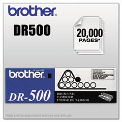 BRTDR500 - Brother DR500 Drum Unit, Black