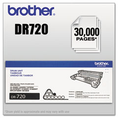 BRTDR720 - Brother DR720 (DR-720) Drum Unit, 30000 Page-Yield