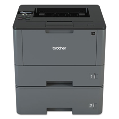 BRTHLL5200DWT - Brother HL-L5200DWT Business Laser Printer with Wireless Networking, Duplex and Dual Paper Trays