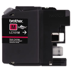BRTLC101M - Brother LC101M, LC101M Ink, 300 Page-Yield, Magenta