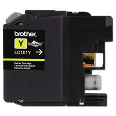 BRTLC101Y - Brother LC101Y, LC101Y Ink, 300 Page-Yield, Yellow