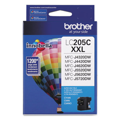 BRTLC205C - Brother LC2033PKS-LC205Y Ink