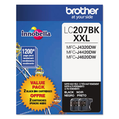 BRTLC2072PKS - Brother LC2072PKS, LC207BK Ink