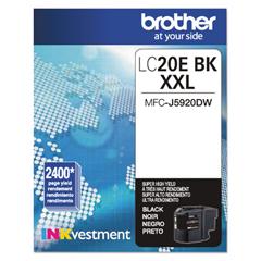 BRTLC20EBK - Brother LC20EBK, LC20EC, LC20EM, LC20EY Ink