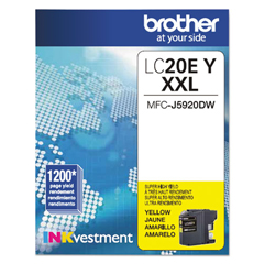 BRTLC20EY - Brother LC20EBK, LC20EC, LC20EM, LC20EY Ink
