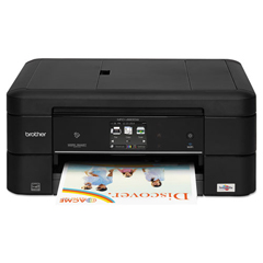 BRTMFCJ880DW - Brother® MFC-J880DW Work Smart™ Compact  Easy-to-Connect Color Inkjet All-in-One