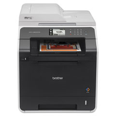 BRTMFCL8600CDW - Brother® MFC-L8600CDW Color Laser All-in-One with Wireless Networking and Duplex Printing