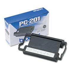 BRTPC201 - Brother PC201 Thermal Transfer Print Cartridge, Black
