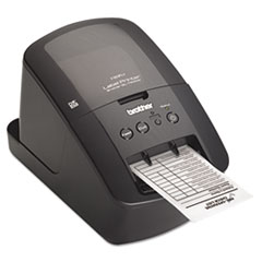 BRTQL720NW - Brother® QL-720NW High-Speed Label Printer with Built-in Ethernet and Wireless Networking