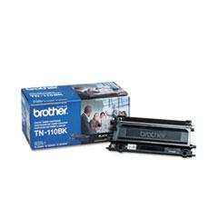 BRTTN110BK - Brother TN110BK Toner, 2500 Page-Yield, Black