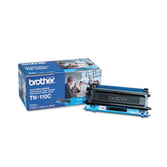BRTTN110C - Brother TN110C Toner, 1500 Page-Yield, Cyan