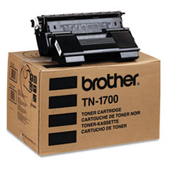 BRTTN1700 - Brother TN1700 High-Yield Toner, 17000 Page-Yield, Black