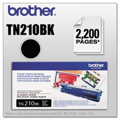 BRTTN210BK - Brother TN210BK Toner, 2200 Page-Yield, Black