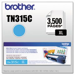 BRTTN315C - Brother TN315C (TN-315C) High-Yield Toner, 3,500 Page-Yield, Cyan