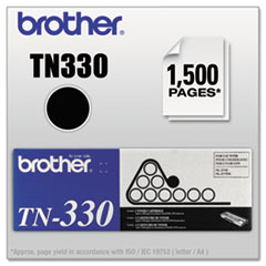 BRTTN330 - Brother TN330 Toner, 1500 Page-Yield, Black