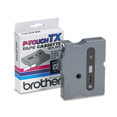 BRTTX1311 - Brother® P-Touch® TX Series Standard Adhesive Laminated Labeling Tape