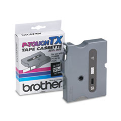 BRTTX2211 - Brother® P-Touch® TX Series Standard Adhesive Laminated Labeling Tape